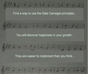 Day 29.  It turns out the Dale Carnegie principles work in social settings where you don't speak the language
